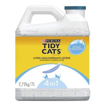 Purina Tidy Cats Lightweight Ocean Freshness paakkuuntuva kissanhiekka - 7 l