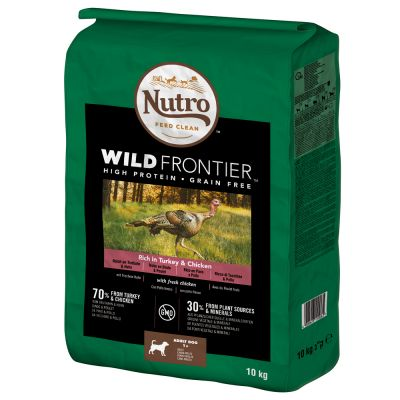 Nutro Wild Frontier Hund Adult Truthahn & Huhn