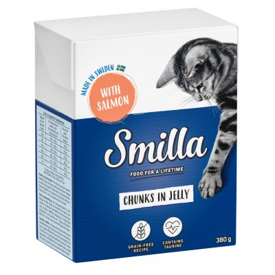 Smilla Chunks in Jelly 6 x 380 g - nauta