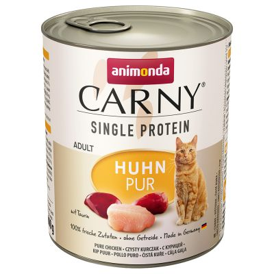 Multipack Animonda Carny Single Protein Adult 24 x 800 g