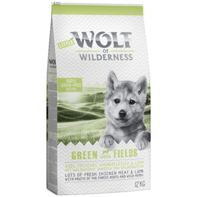 Little Wolf of Wilderness Junior - Green Fields - Lamm