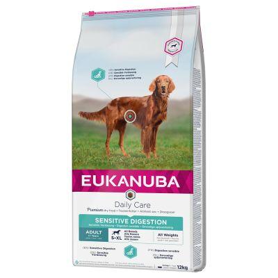 Eukanuba Daily Care Adult Sensitive Digestion - Säästöpakkaus: 2 x 12 kg