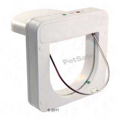 PetSafe PetPorte Smart Flap kattlucka med chip – Kattlucka, vit