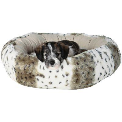 pluche-hondenmand-leika-beige-o-50-cm