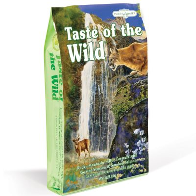 Taste of the Wild - 2 kg Taste of the Wild - Rocky Mountain Feline Kattenvoer