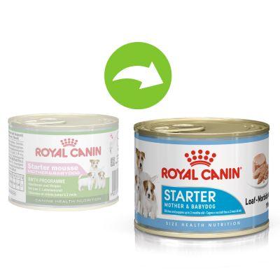Royal Canin Starter Mousse Mother & Babydog - 24 x 195 g