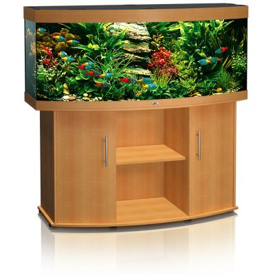 Akwarium Juwel Vision 450 - zestaw - ciemnobrązowe