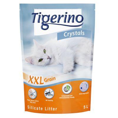 Tigerino Crystals XXL -kissanhiekka - säästöpakkaus: 6 x 5 l