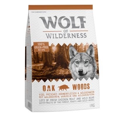 "Wolf of Wilderness Adult ""Oak Woods"" - Wild zwijn"