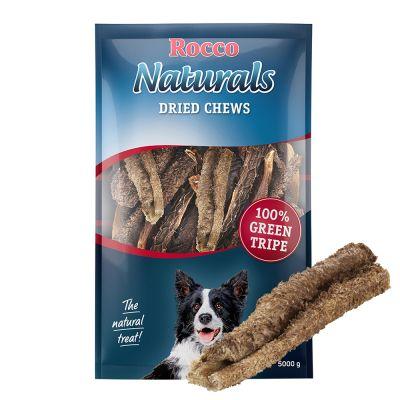 Rocco Naturals snacks de panza verde de buey para perros - 2 x 500 g