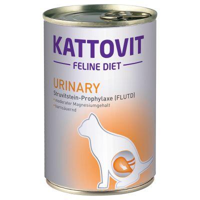 Kattovit Urinary (Struvite Stone Prophylaxis) -märkäruoka - 6 x 400 g