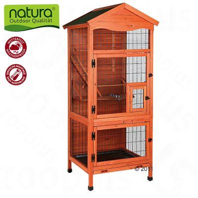 Trixie Natura Outdoor Aviary - 75 X 180 X 78 Cm (l X W X H)