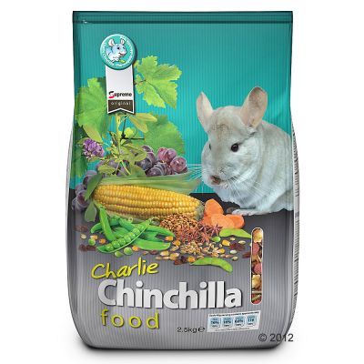 Charlie Chinchilla – Ekonomipack: 2 x 2,5 kg