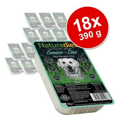 Naturediet Senior/Lite 18 x 390 g - Turkey & Chicken