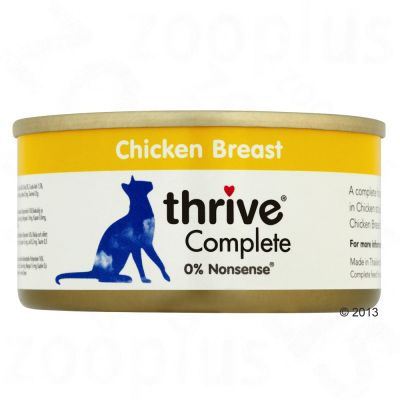 Thrive Complete 6 x 75 g – Kycklingbröst & lever