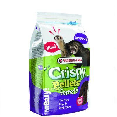 Versele-Laga Crispy Pellets Ferrets illerfoder – Ekonomipack: 2 x 3 kg