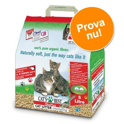 Provpaket: Cat's Best Öko Plus 5 l – 5 l