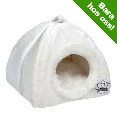 Royal Pet White hundigloo / kattigloo - L 45 x B 45 x H 45 cm