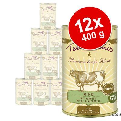Ekonomipack: Terra Canis 12 x 400 g - Kanin med zucchini, amarant & ramslök