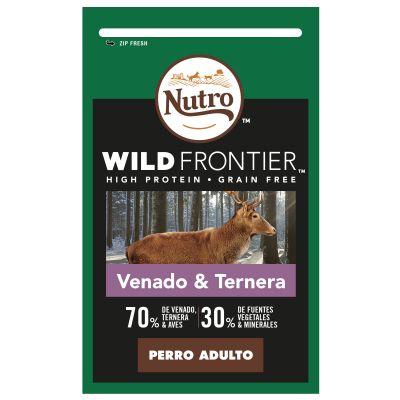 Nutro Wild Frontier Adult Venado y ternera para perros - 2 x 10 kg - Pack Ahorro