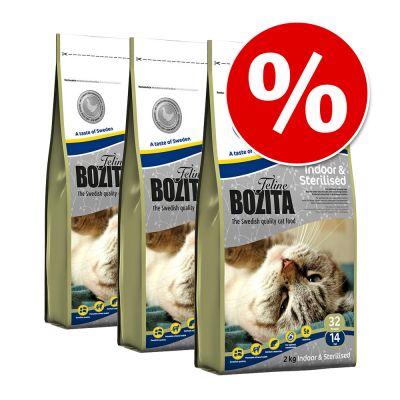 3 x 400 g Bozita Feline torrfoder till kanonpris! – Large