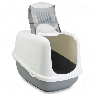 savic-toaleta-pro-kocky-nestor-xxl-svetle-seda-bila