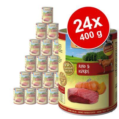MAC's Adult -säästöpakkaus 24 x 400 g – pään liha & porkkana