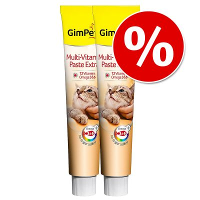 Ekonomipack: GimCat godis och pastej till lågpris! - Vitaminflingor (3 x 200 g)
