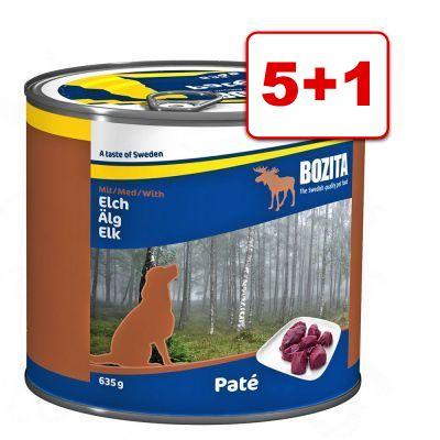 6 x 150 g Animonda vom Feinsten koiranruoka: 5 + 1 kaupan päälle! - Adult, viljaton: kalkkuna & lammas