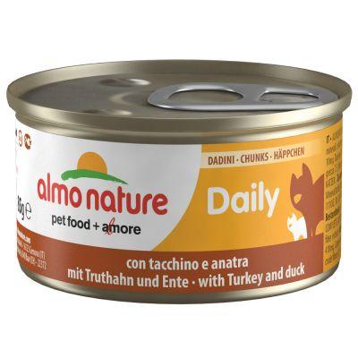 Almo Nature Daily Menu 6 x 85 g - Häppchen mit Rind