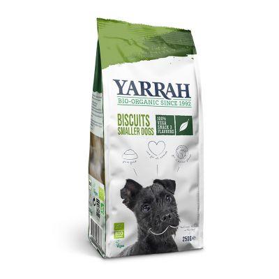 Yarrah Bio galletas vegetarianas y ecológicas para perros - 3 x 250 g - Pack Ahorro