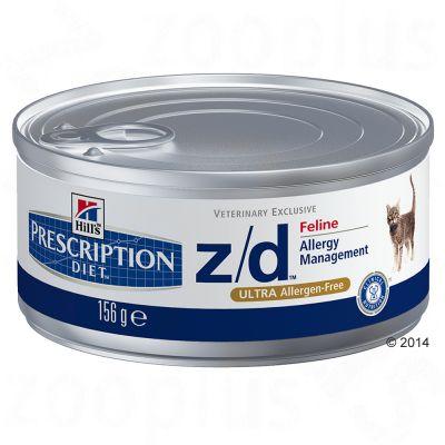 Hills Prescription Diet Feline z/d Ultra Allergen Free – 12 x 156 g