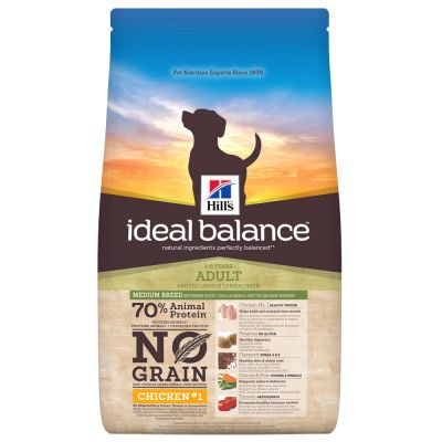 Hill's Ideal Balance Adult con pollo y patatas - Pack % - 2 x 12 kg