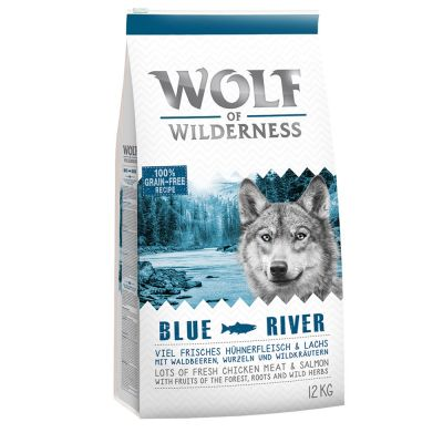 """Wolf of Wilderness Adult """"Blue River"""" - zalm"""