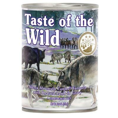 Taste of the Wild Sierra Mountain - 12 x 390 g