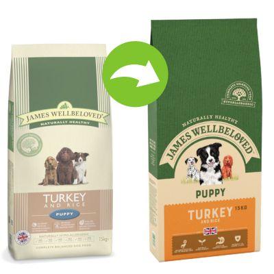 James Wellbeloved Complete Puppy Turkey & Rice - 2 kg