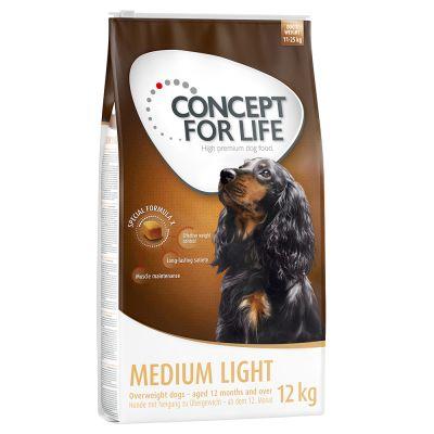 Concept for Life Medium Light - 2 x 12 kg - Pack Ahorro