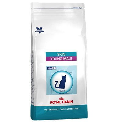 Royal Canin Vet Care Nutrition Cat - Skin Young Male - Economy Pack: 2 x 3.5kg