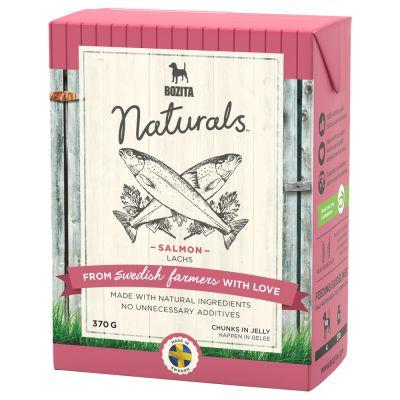 Pakiet Bozita Naturals w galarecie, 12 x 370 g - Kurczak i ryż