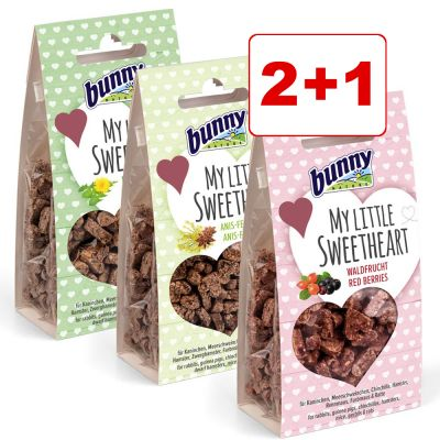 Bunny My Little Sweetheart Mixed Pack 2 + 1 kaupan päälle! - 3-osainen (90 g)