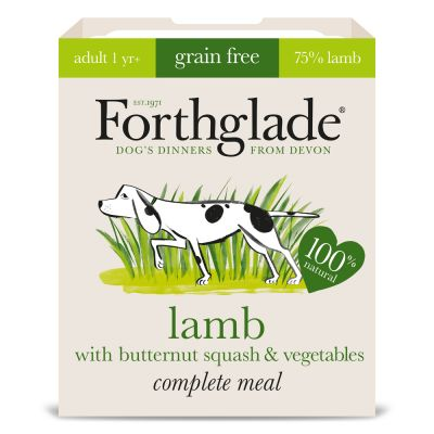 Forthglade Complete Meal Grain Free Adult Lamb Dubbelpak 14 x 395 g