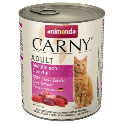Multipack Animonda Carny Adult 24 x 800 g