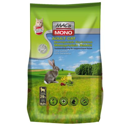 MAC's Cat Adult Monoprotein Rabbit - 7 kg