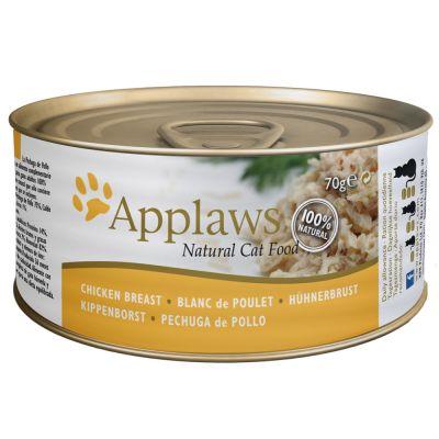 Applaws Katzenfutter in Brühe 6 x 70 g