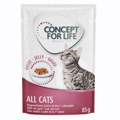 Concept for Life All Cats - in Jelly - 48 x 85 g