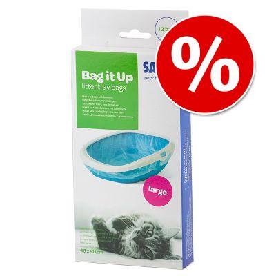 Savic Bag it Up Litter Tray Bags erikoishintaan! - Medium - 12 kpl