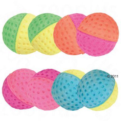 Trixie softgummi-bollar för katter – 8 st