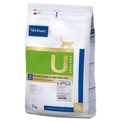 Virbac Veterinary HPM Cat Urology Dissolution & Prevention U2