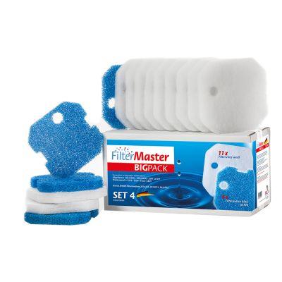 filtermaster-bigpack-set-4-filtermedia-voor-buitenfilter-eheim-22222224-23222324-prof-250250t-experience-150250
