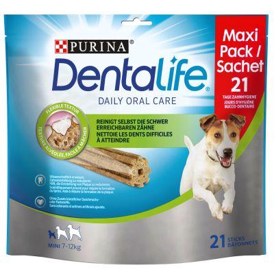Purina Dentalife Snacks -säästöpakkaus 2 x 345 g / 426 g - 2 x M (2 x 345 g / 30 kpl)